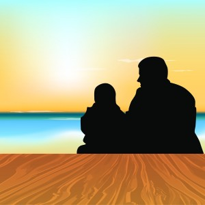 silhouette-of-a-father-with-his-child-sitting-in-evening-background_MJD__T_d