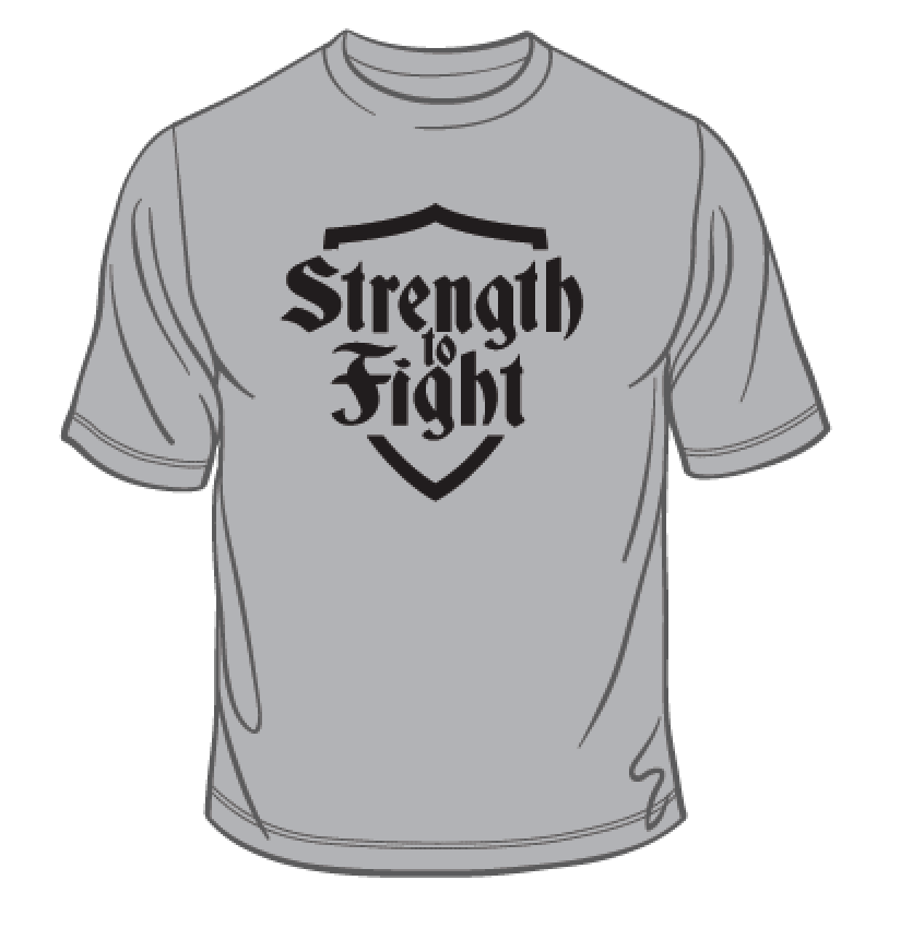 Strength to Fight Classic T-Shirt